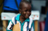 Image of boy who survived Ebola